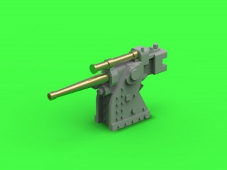 SM-350-102: French training gun 90mm Model 1935 - used on Richelieu